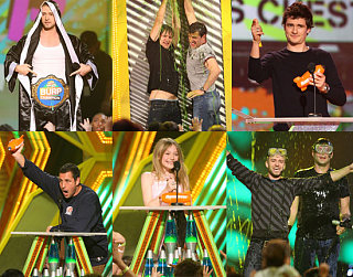 Celebs Get Their Slime On For Kids' Choice Awards