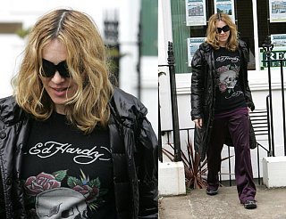 Madonna's Getting In On The Green Fun