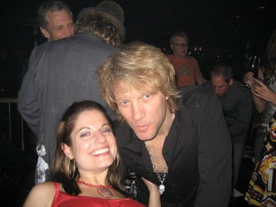 Celebrity Sighting: Jon Bon Jovi Bachelorette