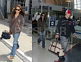 Nick and Vanessa Reunited at LAX
