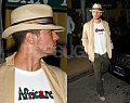Ryan Straight-Faced in Panama Hat