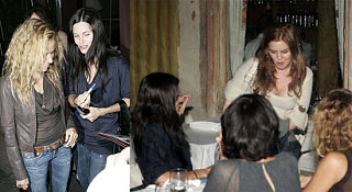 Mom Courteney, New Mom Sheryl & Maybe Mom Isla Grab Dinner