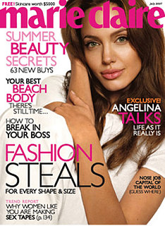 Angelina Bares All Best When Baring All