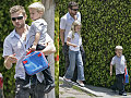 Ryan Out With The Mini Versions of Himself &amp; Reese