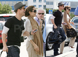 Angelina and Brad's Weekend Getaway