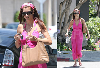 Kate Walsh Channels The Pink Panther