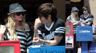 Ashlee & Pete Are Going Strong in Stripes