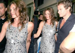 Cindy Crawford: Even Hot When Sloshed