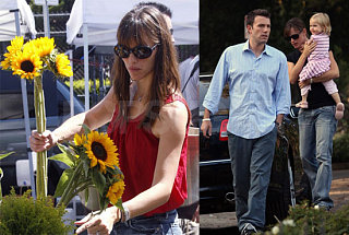 Check In on the Affleck-Garner Weekend Cuteness