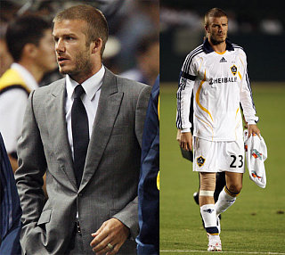Beckham Is Back On The Bench :(