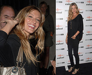 Gisele Is Gorgeous And Giddy