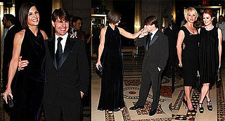 Tom Cruise Gets a Black Tie Salute