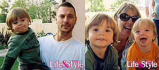 Kevin, Sean Preston and Jayden James in Life & Style Magazine