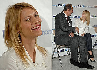 Claire Danes at DonorsChoose.org Event in New York