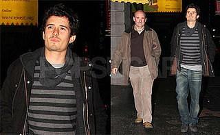 Orlando Bloom Goes to Theater with his Father in LA