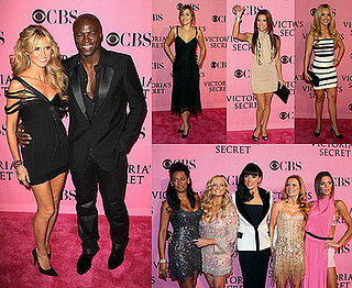 Rosy Smiles Rule for Victoria's Secret Pink Carpet