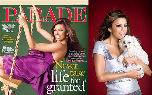 Eva Longoria in Parade Magazine