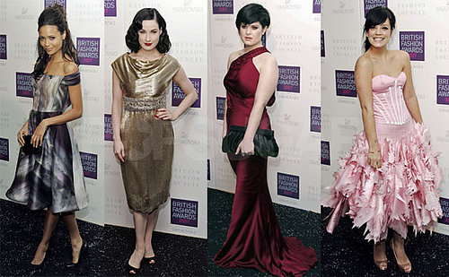 British Style Awards Bring Pretty Dresses & Women
