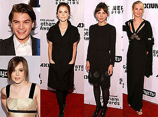 Uma Thurman, Maggie Gyllenhaal and Keri Russell at 17th Annual Gotham Awards in Brooklyn, 11/27/2007