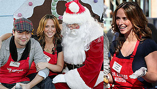 Jennifer Love, Ross and Santa Help Out On Xmas Eve