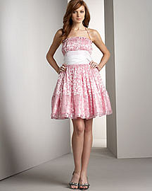 Betsey Johnson Flower Dress Neiman Marcus