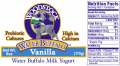 Woodstock Water Buffalo Yogurt