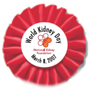 March 8th is World Kidney Day Too