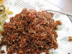 Red Quinoa:  A Delicious Complete Protein in a Grain