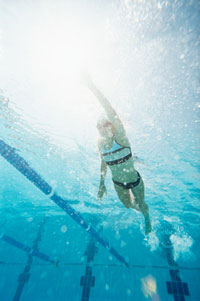 From Zero to a Mile: Swimming for Exercise