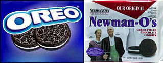Newman-O's:  Like Oreos, but Healthier