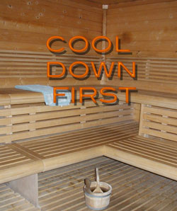 Sauna as Post Workout Treat:  Keep the Summer Heat in Mind