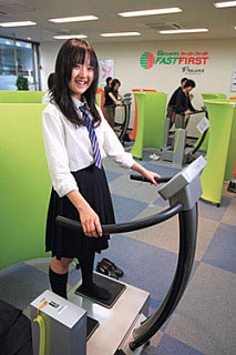 Coin Operated Fitness Stations:  All the Rage in Japan