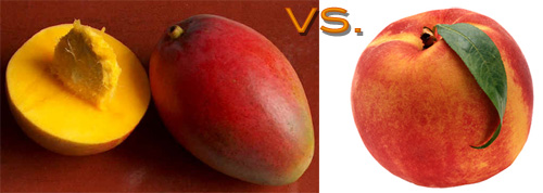 Mango vs. Peach