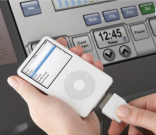 LifeFitness 95 Series: iPod Integration