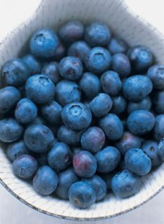 Blueberries:  In Season and So Good For You