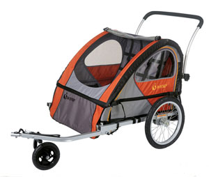 Get in Gear:  InStep Quick N' Light Bike Trailer/Stroller