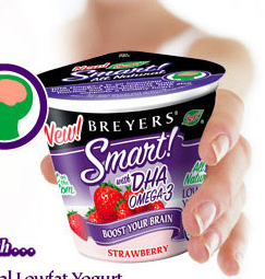 Breyer's Yogurt With DHA Omega-3