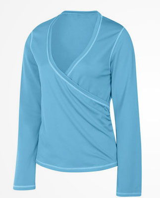 Get Your Butt in Gear: New Balance Bamboo Surplice Ballet Top