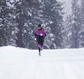Winter Exercise Tip: Head Into the Wind First