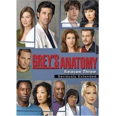 Grey's Anatomy - The Complete Third Season DVD