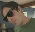 Guy Catches Sunglasses With His Face