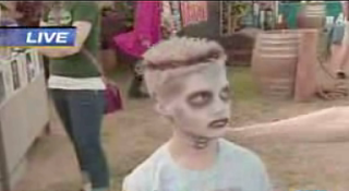 Zombie Kid Makes The News