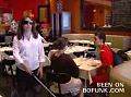 Blind Waitress Prank