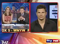 Nick Lachey Interview Cut Short