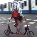 One-Sided Biking