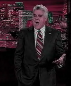 Jay Leno Takes A Crack At Lindsay Lohan
