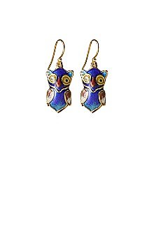Anthropologie - Wise Owl Earrings