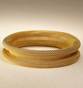 Nicole - RalphLauren.com Rolled Gold Bangle