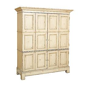 Vanguard Furniture Milk Paint Entertainment Armoire