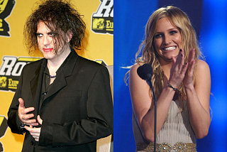 Can Robert Smith Cure Ashlee Simpson's Lack of Talent?